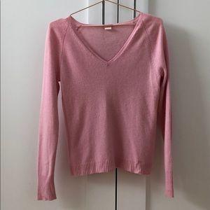J.crew V neck Cashmere Sweater